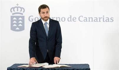 Isaac Castellano toma posesión como consejero de Turismo, Cultura y Deportes