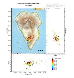 La Palma registró este viernes 44 sismos de baja magnitud tras varios días de inactividad