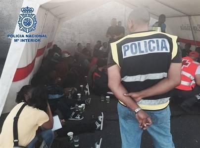 Desarticulan una organización que traficaban con inmigrantes subsaharianos