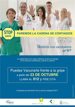 Sanidad inicia este lunes la campaña de vacunación frente a la gripe