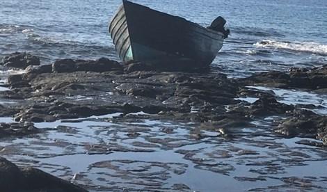 Arriba una patera con al menos nueve inmigrantes a Lanzarote y ocho kilos de hachís