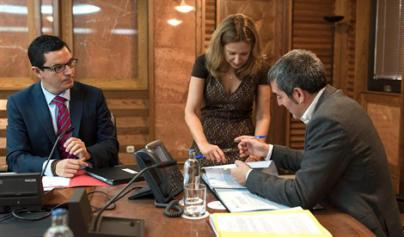 Dávila declina valorar las investigaciones sobre Clavijo en el 'caso Grúas'