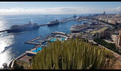 Puertos de Tenerife recibirá a más de 187.000 cruceristas en diciembre