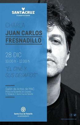 Juan Carlos Fresnadillo hablará este jueves en Santa Cruz sobre los desafíos del cine