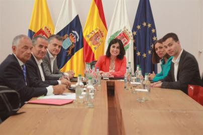 El Parlamento de Canarias suspende este lunes el pleno por la alerta por tormentas