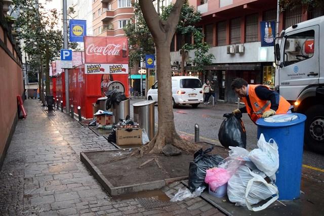 Casi 242 toneladas de residuos en los primeros cinco días del Carnaval