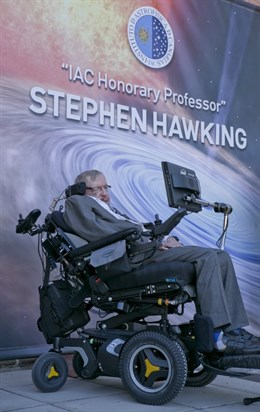 El IAC recuerda a Hawking como un 'luchador por la vida'