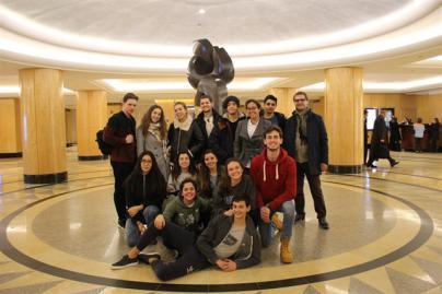 Estudiantes del Colegio Alemán de Tenerife premiados en un encuentro internacional en la ONU
