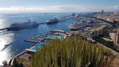 Más de 26.000 cruceristas llegarán esta semana a Santa Cruz