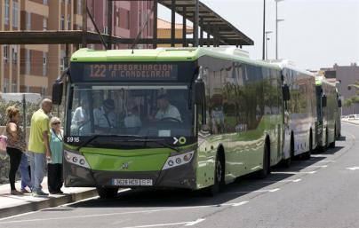 Agresión a un conductor de Titsa en Candelaria