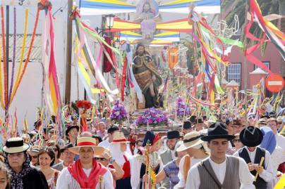 Garachico acoge este jueves la tradicional Romería de San Roque