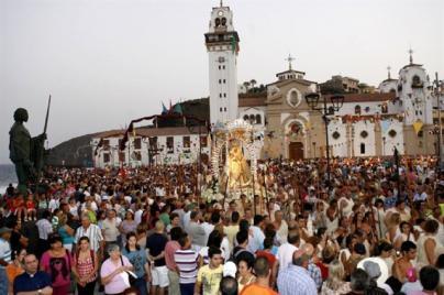 Candelaria celebra este miércoles el día grande de la Patrona de Canarias