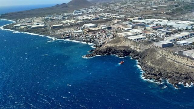 PECMAR descarta contaminación en el mar por el vertido de fuel en el Polígono Industrial de Güímar