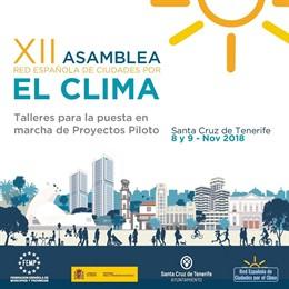 La Red Española de Ciudades por el Clima se reunen desde este jueves en Santa Cruz