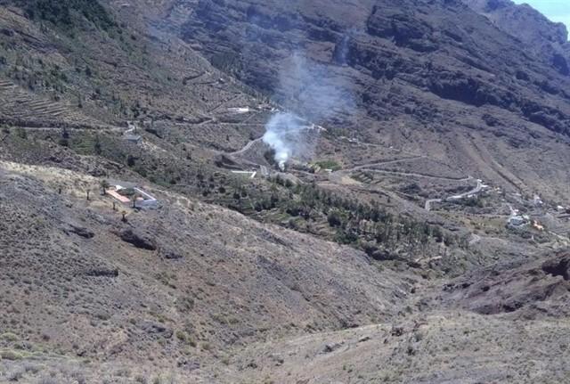 Controlado un conato de incendio declarado en Taguluche