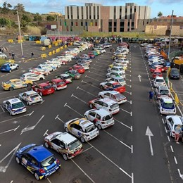 Fallece un espectador tras ser arrollado por un coche en el Rallye Ciudad de La Laguna