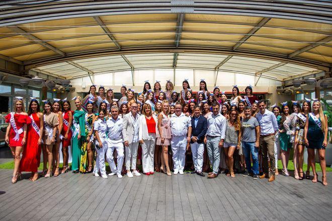 Trasmediterránea nombra 'embajadoras' de su proyecto 'Plastic Free' a las candidatas a Miss World Spain 2019