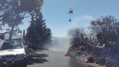 Controlado el incendio de la cumbre de Gran Canaria