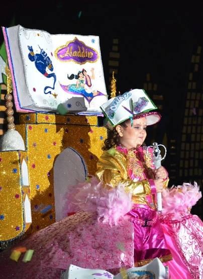 Paola Herrera Armas, Reina Infantil del Carnaval de San Sebastián de La Gomera
