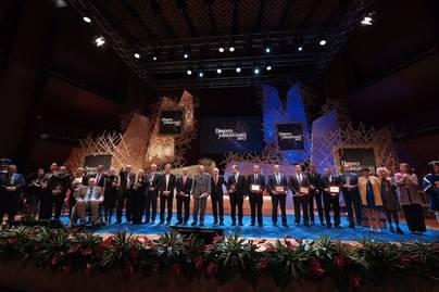Gala de Honores y Distinciones del Cabildo de Gran Canaria por su 104 aniversario