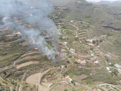 Seis conatos en 24 horas avisan del riesgo de un incendio forestal
