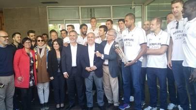 El Herbalife visita el Cabildo tras proclamarse subcampeón de Copa