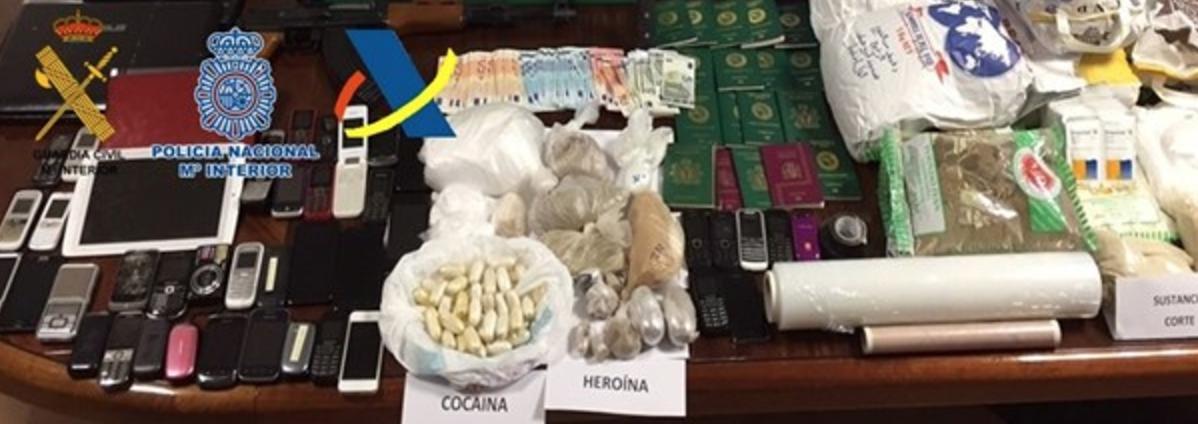 Desarticulada la mayor organización de narcotraficantes de heroína en Canarias