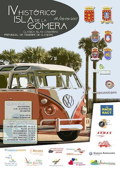 La cuarta edición del Histórico 'Isla de La Gomera' se celebrará el 8 y 9 de septiembre