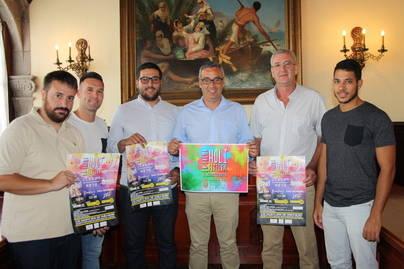 Santa Cruz de La Palma acoge la primera edición del Holi Festival