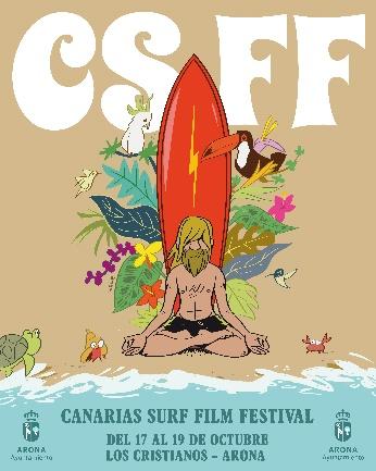 Cine de surf, el paraíso de los festivales en Arona