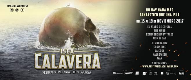 El Festival Isla Calavera ofrecerá durante cinco días el mejor cine del género fantástico