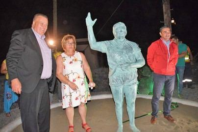 La Frontera rinde homenaje a Juan Barbuzano e inaugura el Museo de Lucha Canaria