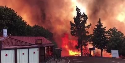 El Cabildo declara extinguido el incendio 'hambriento' que asoló la cumbre de Gran Canaria