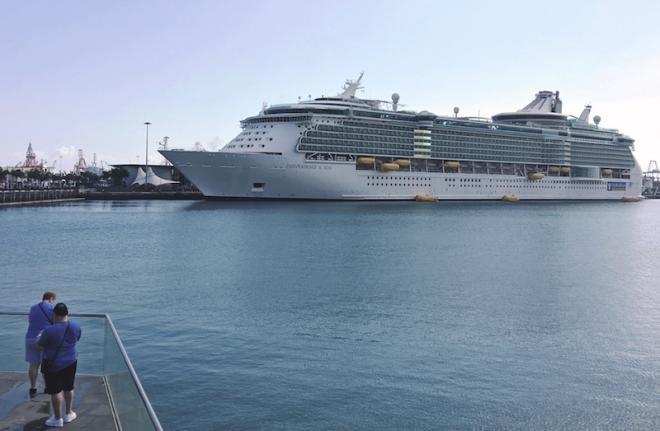 LPGC aguarda este fin de semana al 'Independence of the Seas' y al nuevo 'Mein Schiff 1'