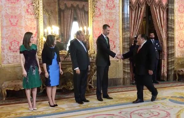 La Casa Real y Costa Rica destacan el trabajo realizado por el Instituto Volcanológico de Canarias
