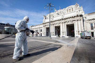Italia registra la cifra de contagios más baja desde el 10 de marzo