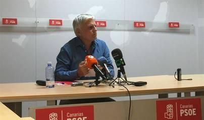 Dimite José Miguel Pérez como secretario general del PSOE en Canarias