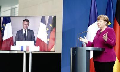 Merkel y Macron proponen a la UE un fondo de 500.000 millones para los países más afectados por el Covid-19