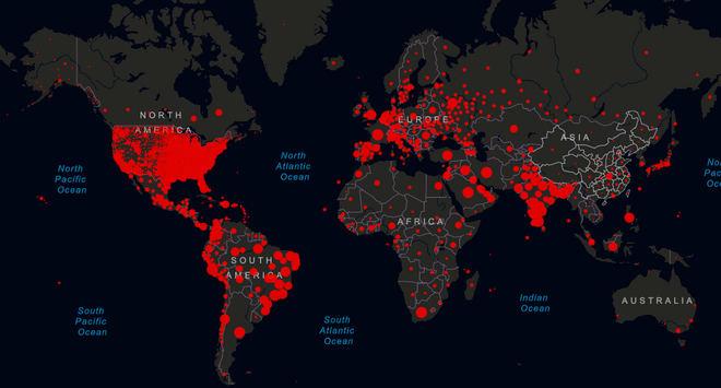 Las cifras del coronavirus: 37,5 millones de infectados y 1.076.846 fallecidos