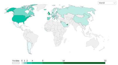 La vacunación mundial contra el coronavirus en tiempo real: España vacuna al 5,18 por ciento