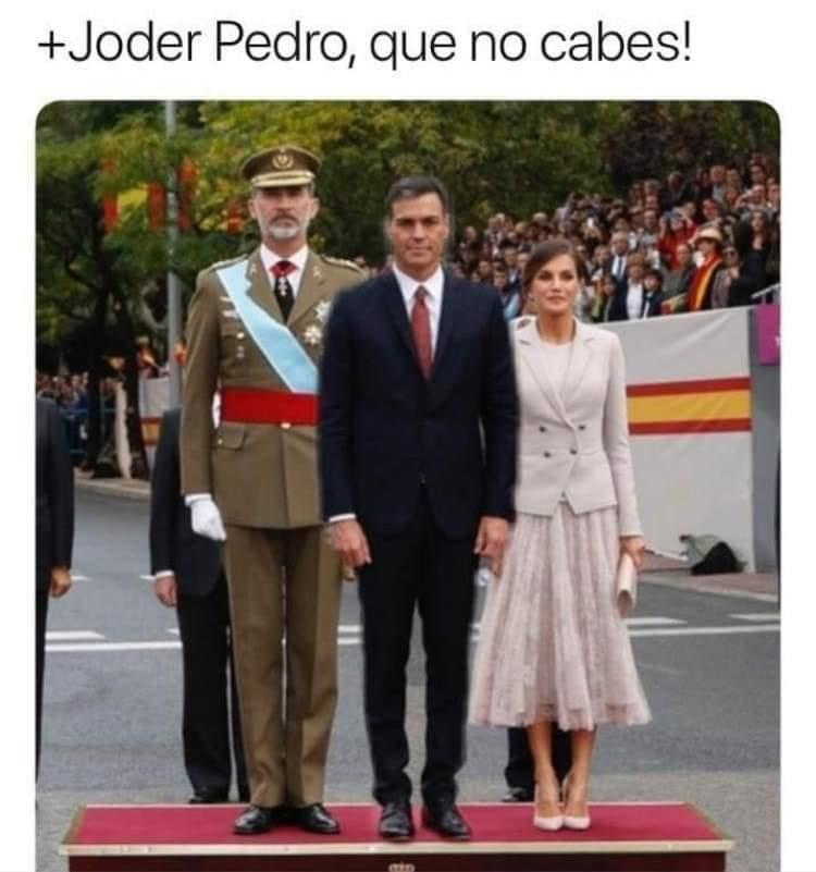 "La 'figurera"" de Pedro Sánchez invade la red"