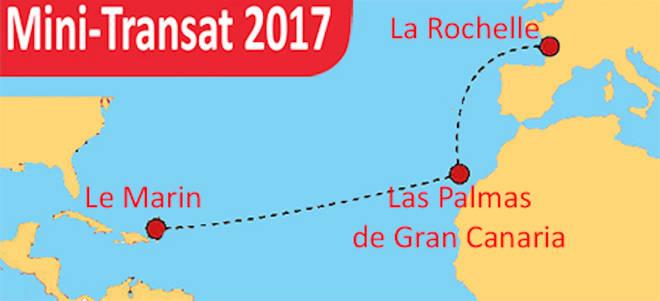La gran aventura de la regata Mini Transat comienza con la construcción de 152 atraques