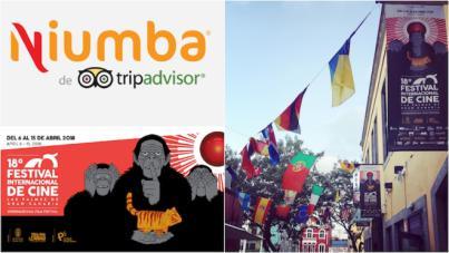 Niumba destaca al Festival Internacional de Cine de LPGC como uno de los eventos de referencia para el viajero en España esta Primavera