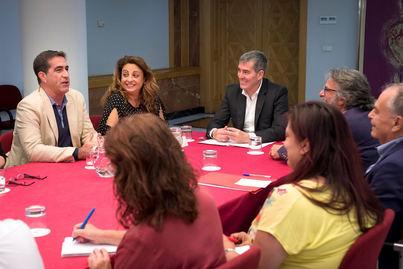 Clavijo garantiza al Tercer Sector la suficiencia financiera de la Ley de Servicios Sociales