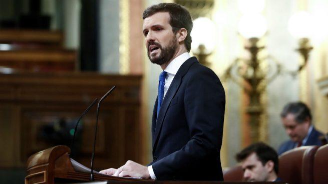 Casado promete a Sánchez 'unidad' ante el coronavirus: 'No está solo'