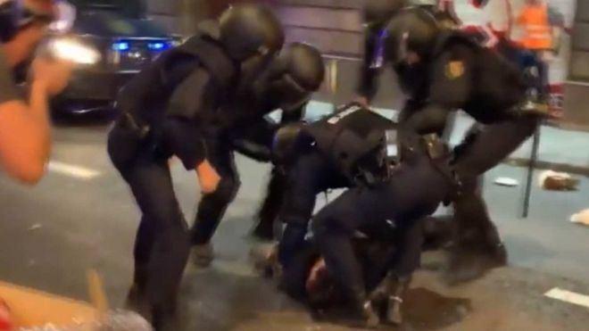 El SUP pide a la Fiscal General del Estado que acuse por terrorismo a los detenidos en Cataluña
