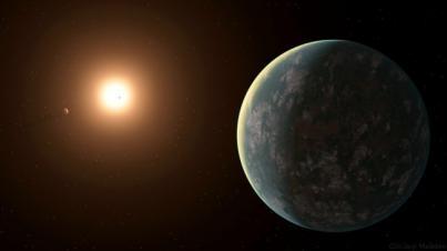 Descubren un sistema de exoplanetas muy cercano con un mundo potencialmente habitable