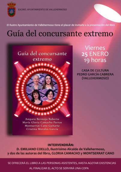 Vallehermoso acoge este viernes la presentación del nuevo libro de Montserrat Cano