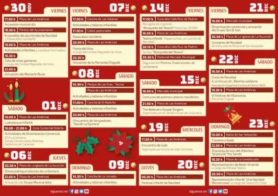 San Sebastián de La Gomera presenta su programa de Navidad