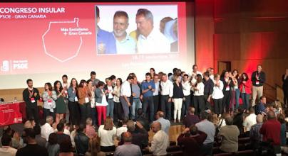 La Ejecutiva Insular de PSOE Gran Canaria, aprobada con el 63 por ciento de los votos